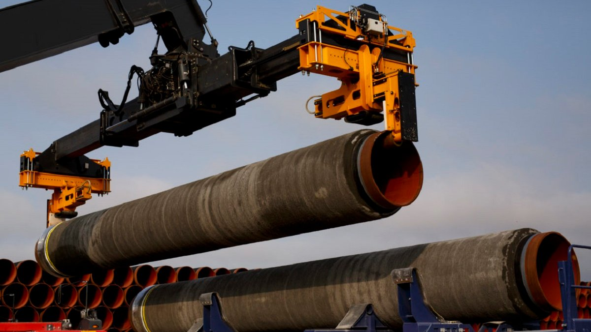 Nord Stream 2 construction resumed