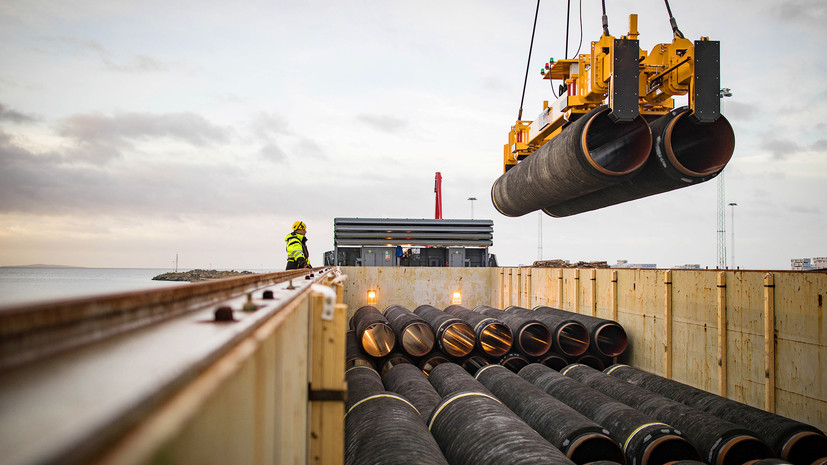 One of the partners of Nord Stream 2 abandoned the project due to US sanctions