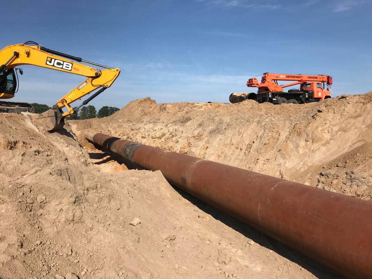 На ділянці газопроводу, де сталася розгерметизація, відновлено транспортування газу в штатному режимі – ОГТСУ