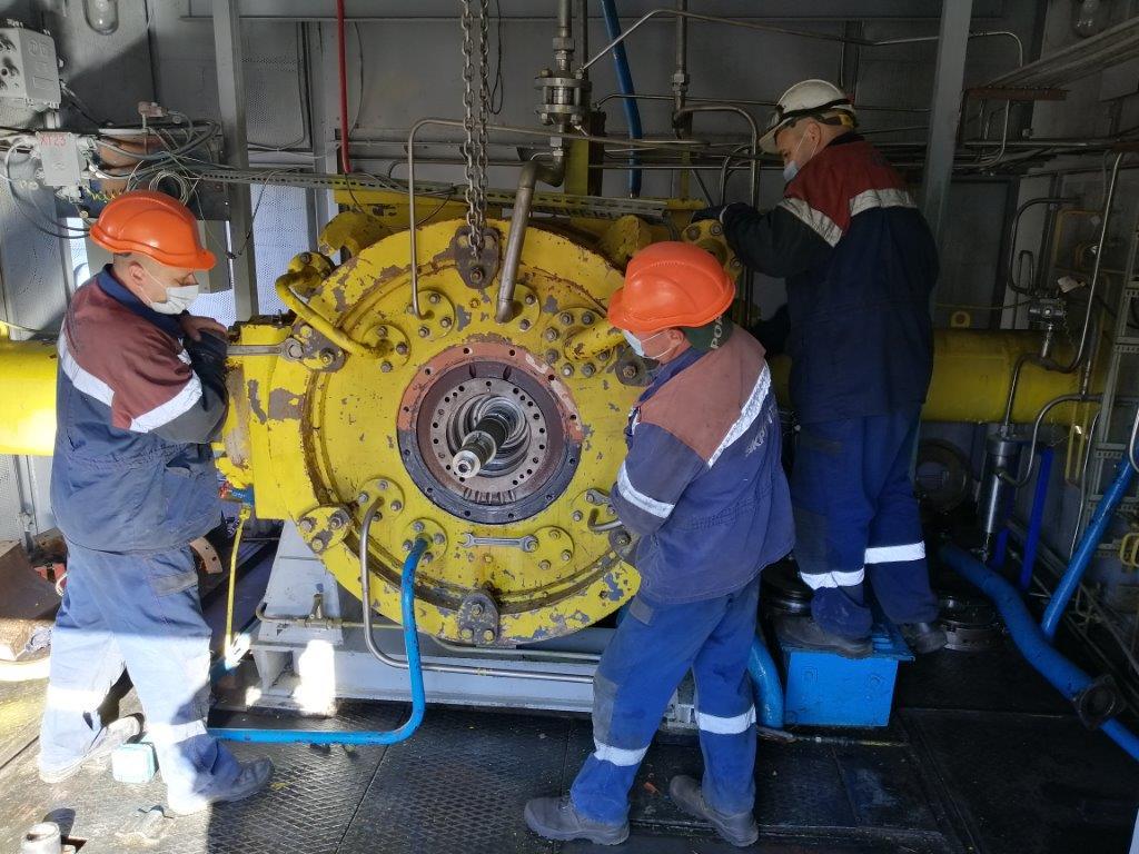 Укртрансгаз оновлює компресорну станцію на Кегичівському ПСГ
