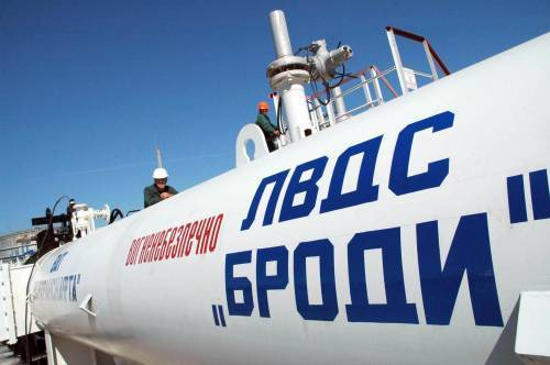 Ukraine is ready for oil transit to the Belarusian oil refinery through the Odesa-Brody pipeline