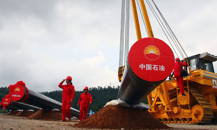 China will allow foreign companies to produce oil and gas