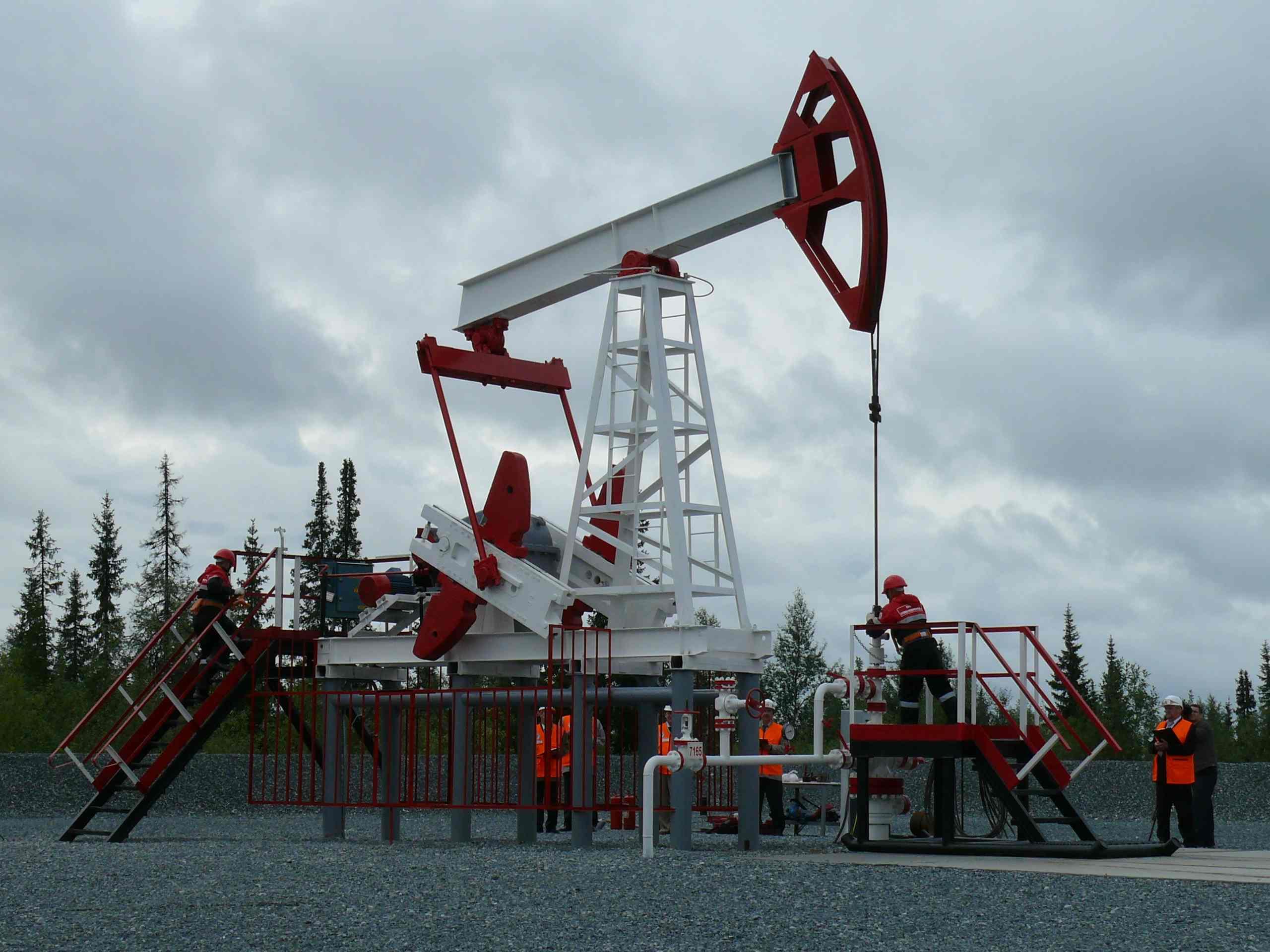 Brent crude price rises above $45 per barrel again