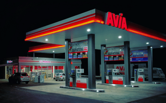 The first Swiss AVIA filling station has opened in Ukraine