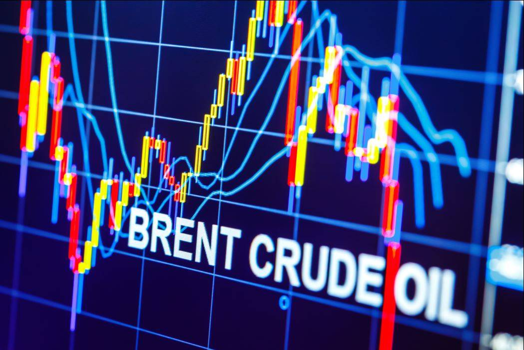 Brent price went up to $67.08 per barrel