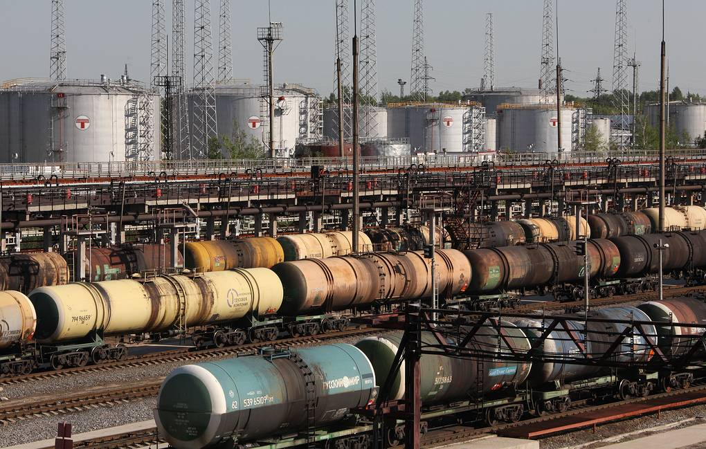 Russia banned the import of petroleum products