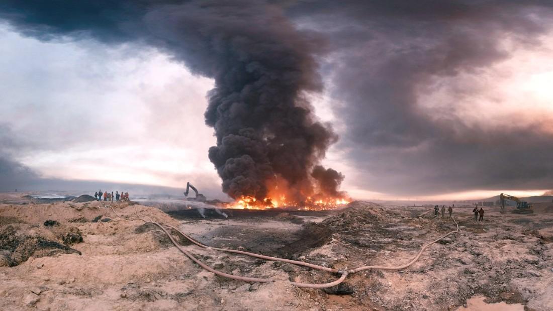 В Ираке подорвали нефтяное месторождение