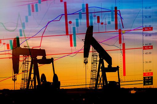 Brent drop towards $64 a barrel