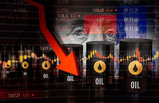 Oil prices go down again due to rise in the incidence of COVID-19 in the world
