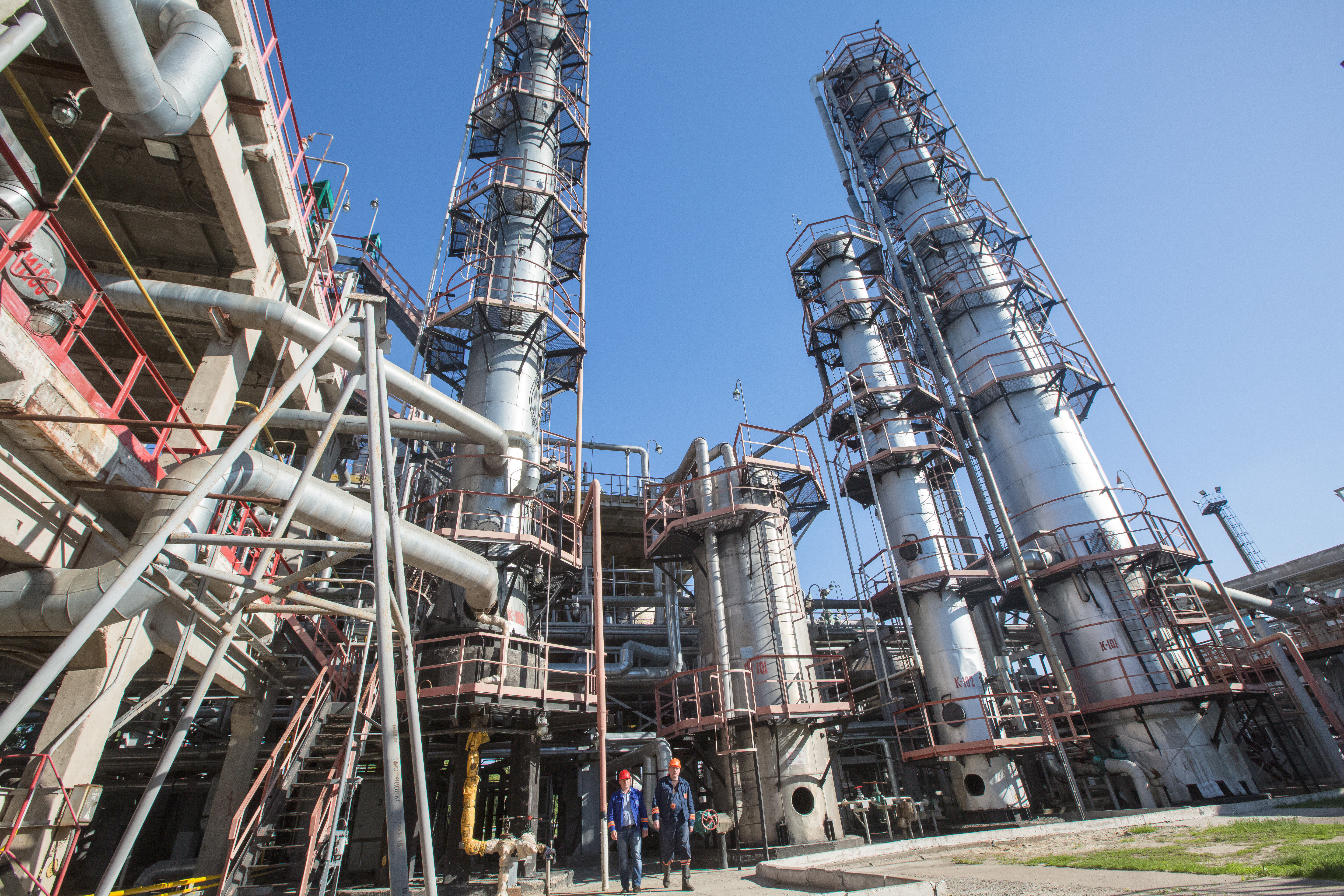 Shebelinsky Oil Refinery increased gasoline production by 9%