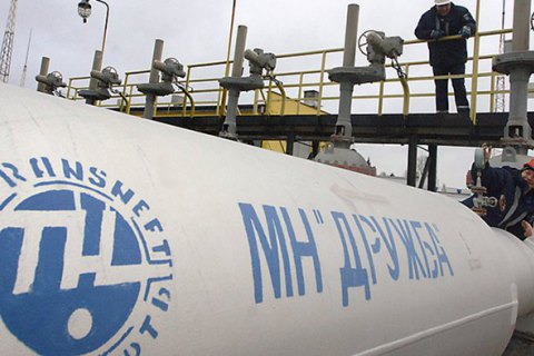Ukrtransnafta resumed oil transit to Europe