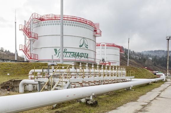 «Укртранснафта» приостановила транзит российской нефти